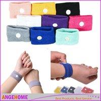 Wholesale 2016 Sports cuffs Safety Wrist support Travel Wristbands Anti Nausea Car Seasick Anti Motion Sickness Motion Sick Wrist Bands