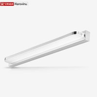 angled wall mirror - Hansvinu Modern cm W Fillet angle stylebathroom led mirror light wall lamp Stainless acrylic wall light Factory