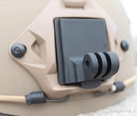 Wholesale Helmet Aluminum Fixed Mount for Camera Gopro Hero3 Hero2 HD and NVG Mount Base