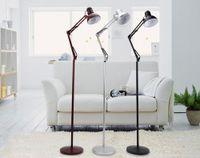 Wholesale Quality bar coarse Large white mechanical floor lamp home decorative light fixture lamp Lighting E27 LED Bulbs GY Jan LD930