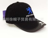 Wholesale style car brand hat color PEUGEOT with car logo sports baseball cap embroidery racing motorcycle F1 cap