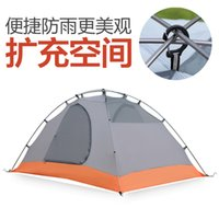 Wholesale Hewolf New Waterproof UV Outdoor Camping Tent cm Person Hiking Party Hunting Fishing Cadir Kamp Tent about kg