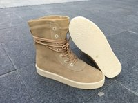 Wholesale new release kyw season Boost Classic khaki color women Fashion boosts Shoes with box