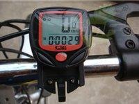Wholesale Bicycle Computer Cycling Odometer Speedometer Odometer Wired Waterproof Digital LCD Leisure Functions Waterproof Function Digital I009