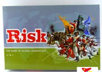 battle chess - ENGLISH Big Battle RISK Board Games Models containing Accessories Classic board games chess Poker