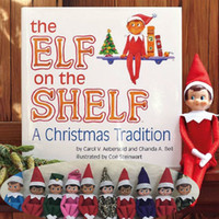 elf on the shelf - 50pcs Christams The Elf Doll Lovely Cute Christams Gifts On The Shelf Plush Stuffed Toys Styles For Boys And Girls