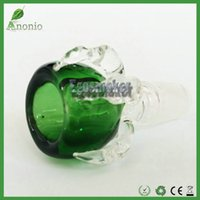 Wholesale Thick Dragon Claw Glass Bowl for Smoking Pipes Dry Herb Holder mm mm Male Joint Glass Smoking Bowls