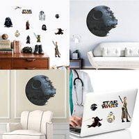 art work kids - Removable Death Star Art Work Star War Figure Wall Sticker Wall Decoration for Kids Room Bedroom