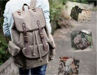 amazon women bags - 2016 new foreign trade ebay Amazon canvas shoulder bag leisure backpack bag
