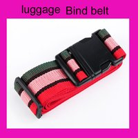 Wholesale casual men women travel supplies necessary travel luggage belt pull rod box bind belt cm