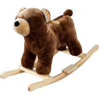 bear rocking horse - Plush Rocking Barry Bear Rocking Animal Horse Happy Trails