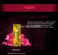 Wholesale 5 pieces pack vagina tightening gel narrow vagina clean shrink vaginal personal health care tampon pad tampon products