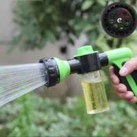 Sprayers & Nozzles Plastic  Hot Sales Water Gun Plant Spraying Irrigation Garden Lawn Hose Watering Gun Sprayer Car Cleaning Foam Spray Garden Watering Tools JR0033