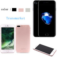 Wholesale Goophone i7 plus GB ROm GB RAM clone cell phones quot MTK6580 Quad Core I7 show g lte G G Mp camera Metal Body Black color