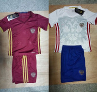 arshavin jersey - 16 russia kids soccer jersey boys Kerzhakov ARSHAVIN Dzagoev PAVLYUCHENKO football shirt children