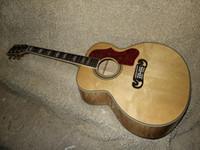 Wholesale Custom Shop Natural Guitar SJ Acoustic guitar