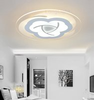Wholesale Modern LED Ceiling Lights V V Remote Control Three Colors Chandelier For Home Light Decorative Luxury Living Room Lamp Indoor Lighting