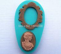 avatars photos - queen s avatar photo frame food grade silicone baking molds cake fondant decorating tools