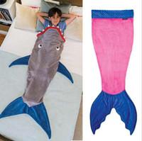 baby overalls pattern - Baby Shark Sleeping Bag Kids Animals Overalls Children Mermaid Sleeping Bag Girls Boys Shark Sleeping Blanket141cm