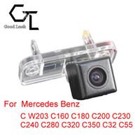 benz ccd cameras - For Mercedes Benz C W203 C160 C180 C200 C230 C240 C280 C320 C350 C32 C55 Wireless Car Auto Reverse CCD HD RearView Camera