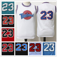star - With Logo name Stitched Swingman SW Michael MJ Tune Squad Jersey Cheap Retro All star Hot Throwback Gift jerseys Sport HOT