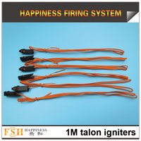 gun powder - 1000pcs Meter Talon igniters Safety fuse fireworks igniter without Pyrogen without Gun Powder for consumer fireworks