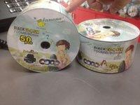Wholesale BANANA printable CD R X full version semi circle vinyl burn a disc DVD blank disc