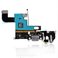 Wholesale 100 Genuine iPhone Charging Dock Connector Flex Cable Headphone Jack Audio Flex Mic Antenna i6 quot Original