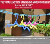 Wholesale Laundry Washing Line Outdoor Home Travel Clothes Line Clotheslines