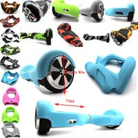 auto wheel balancing - Auto Wheel Electric Scooter self balancing scooter Soft Silicone Sleeve Colorful Skin Protective Case Logo Pringint Service Provided