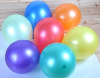 Wholesale 500pcs g Multi Colored Inch Round Pearl Air latex Balloons For Party Holiday can choose color