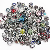 Wholesale Newest New High Quality Metal Snap Button Oem odm Random Delivery Ml1001 DIY Jewelry making Fit for necklace bracelet ring