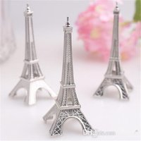 Wholesale 100 Wedding favor Eiffel Tower Place Card Holder Wedding Party Gifts DHL Fedex
