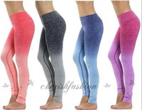 b slim clothing - New Yoga Leggings For Women High Waist Gym Clothing Sports Slimming Pants Workout Sport Fitness Slim Running Clothes M156 B