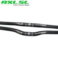 bicycle riser - RXL SL Diameter mm Full Carbon Fiber MTB Mountain Bicycle Bend Riser Handlebar Straight Flat Handlebar mm
