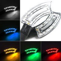 Wholesale High Quality motorcycle different color V a pair LED turn light With bright LED Wick For Dirt bike