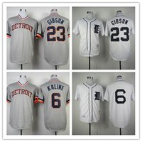 al collection - 2016 Detroit Tigers Jersey Mens Kirk Gibson Al Kaline White Flexbase Collection Baseball Jersey Stitched Baseball Jerseys
