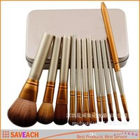 Wholesale N3 Professional Cosmetic Facial Make up Brush Tools Makeup Brushes Set Kit With Retail Box
