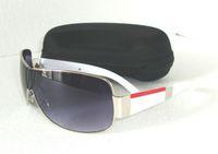 Wholesale hot selling sun glasses brand new fashion style pra sunglasses Men and women sunglasses black white brown hot selling