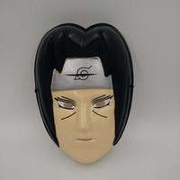 animated sasuke - Naruto mask Uchiha Sasuke Animated cartoon The Japanese anime mask Halloween Cosplay