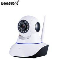 Wholesale WEONEWORLD Wireless Baby Monitor Ip Camera Wifi Babys Monitors with Motion Detection Intercom HD p Live Electronic Monitor