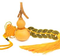attract wealth - Chinese Lucky Feng Shui Emperor Coins With Gourd String To Attract Wealth And Health Home Fortune Decoration R0101010