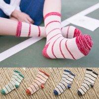 Wholesale Sport Socks lovers socks Autumn And Winter New line thick line stripe in tube socks socks men socks in Women s Socks
