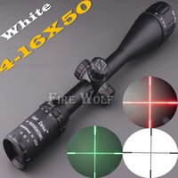 Wholesale DHL Carl Zeiss x50 White Markings Green and Red Illuminated Riflescopes Rifle Scope Hunting Scope