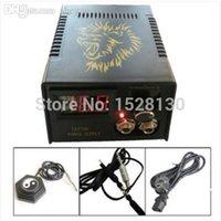 Wholesale NEW YJ06 Rotary Tattoo Motor Machine Gun P026 LCD Digital Power Supply Clip Cord