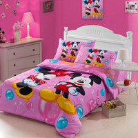 Wholesale Cartoon Bedding Sets Christmas Gift for Kids Super Star Duvet Covers Set without Comforter Bedsheet Pillowcase pc Sets