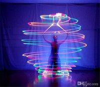 Wholesale LED Hand Props Hot selling women led poi thrown balls for accessories hand belly dance props on sale