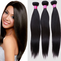 Wholesale 2016 hot Selling Peruvian hair yaki straight long hairstyle hairpieces B nature color