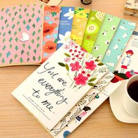 Wholesale 4pcs Lovely Notebooks For Writting Daily Memos Notebook Office School Supplies Fashion Kids Gifts Prizes Papelaria