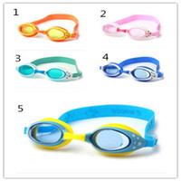 baby swim goggles - Children Swimming Goggles Fashion And Beautiful Baby Accessories Child Goggles Multi color Goggles Waterproof Baby Swimming Glasses